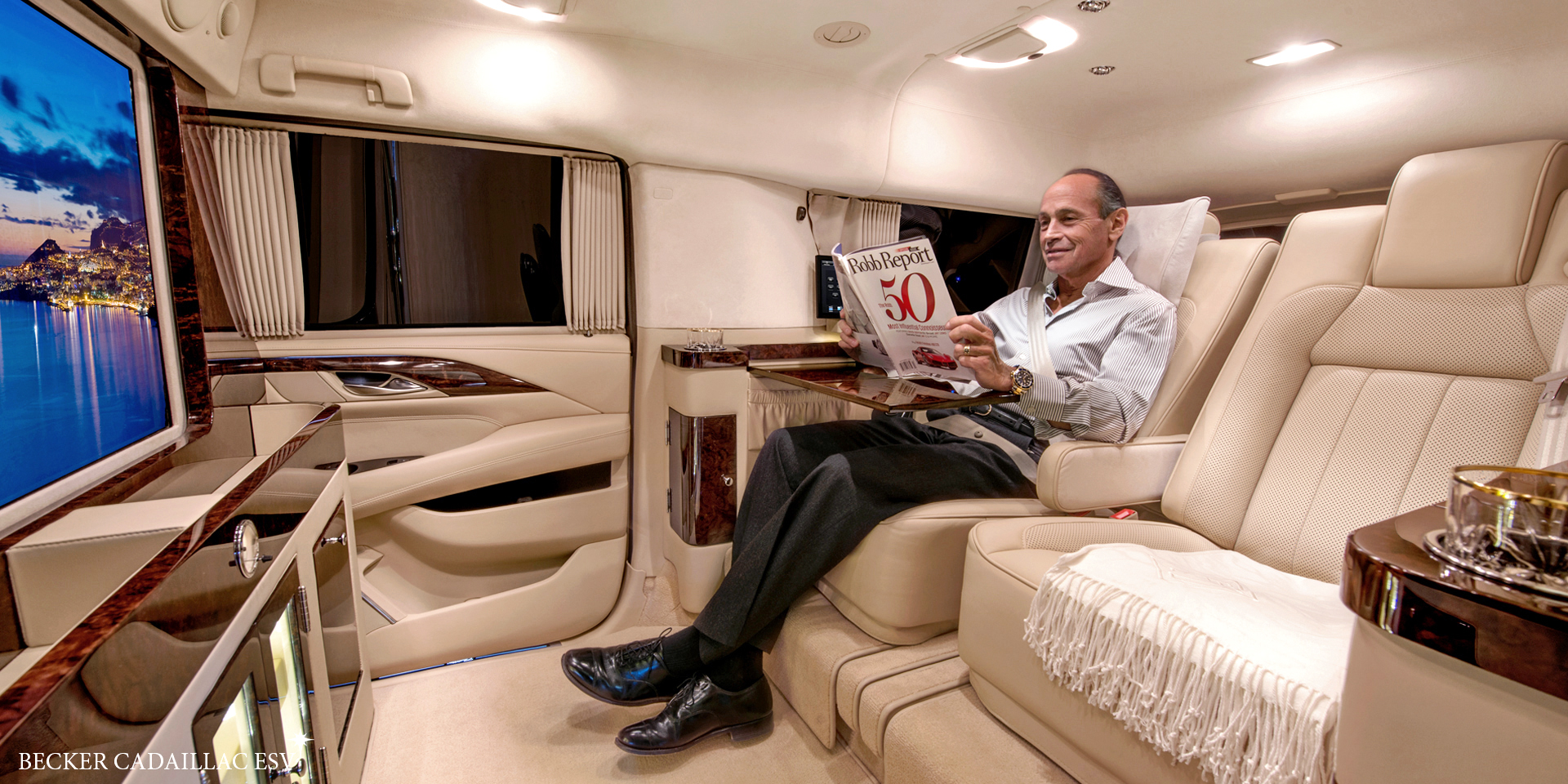 Becker Automotive Design Luxury Transport Coaches Sprinter Van
