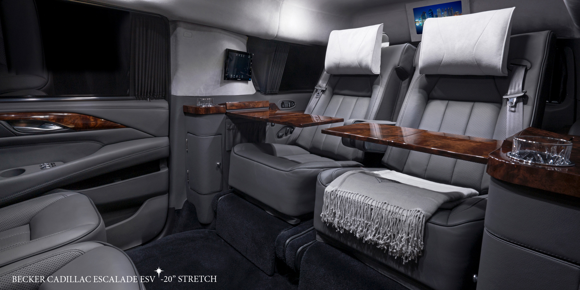 Cadillac Escalade Redesign >> Becker Automotive Design // Luxury Transport Coaches // Sprinter Van and Cadillac ESV Conversions