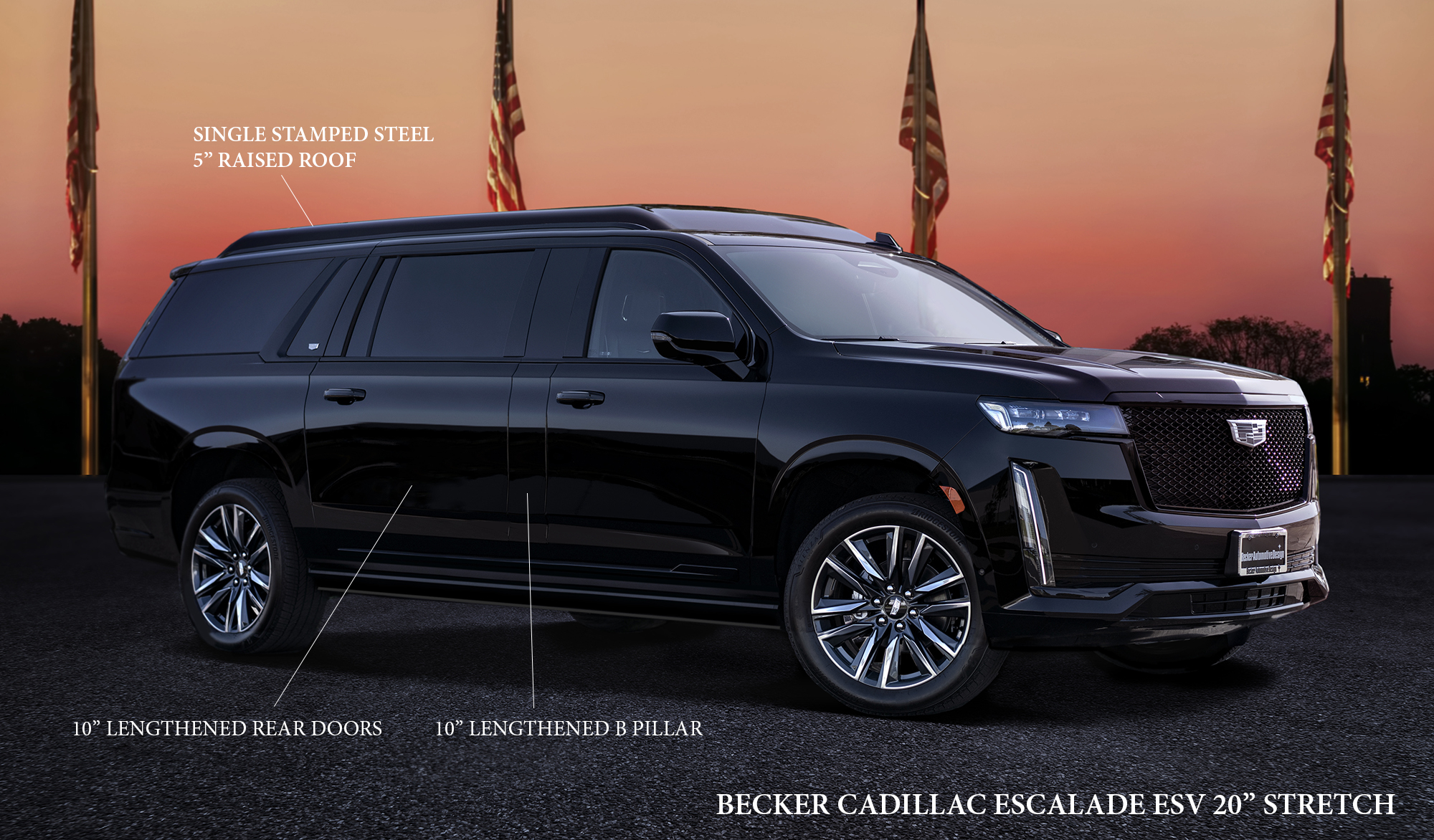 Escalade Platinum 2015 >> Becker Automotive Design // Luxury Transport Coaches // Sprinter Van and Cadillac ESV Conversions