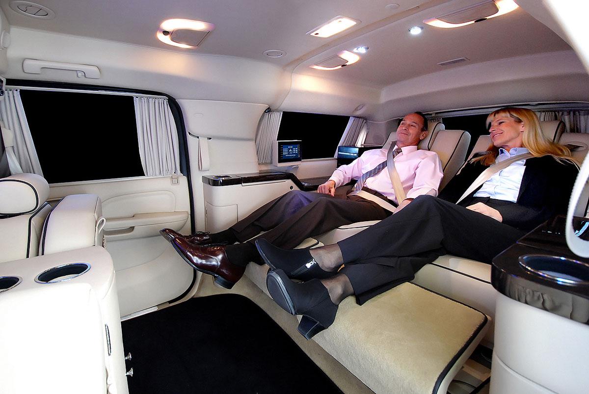 Sprinter JetVan Floorplan B