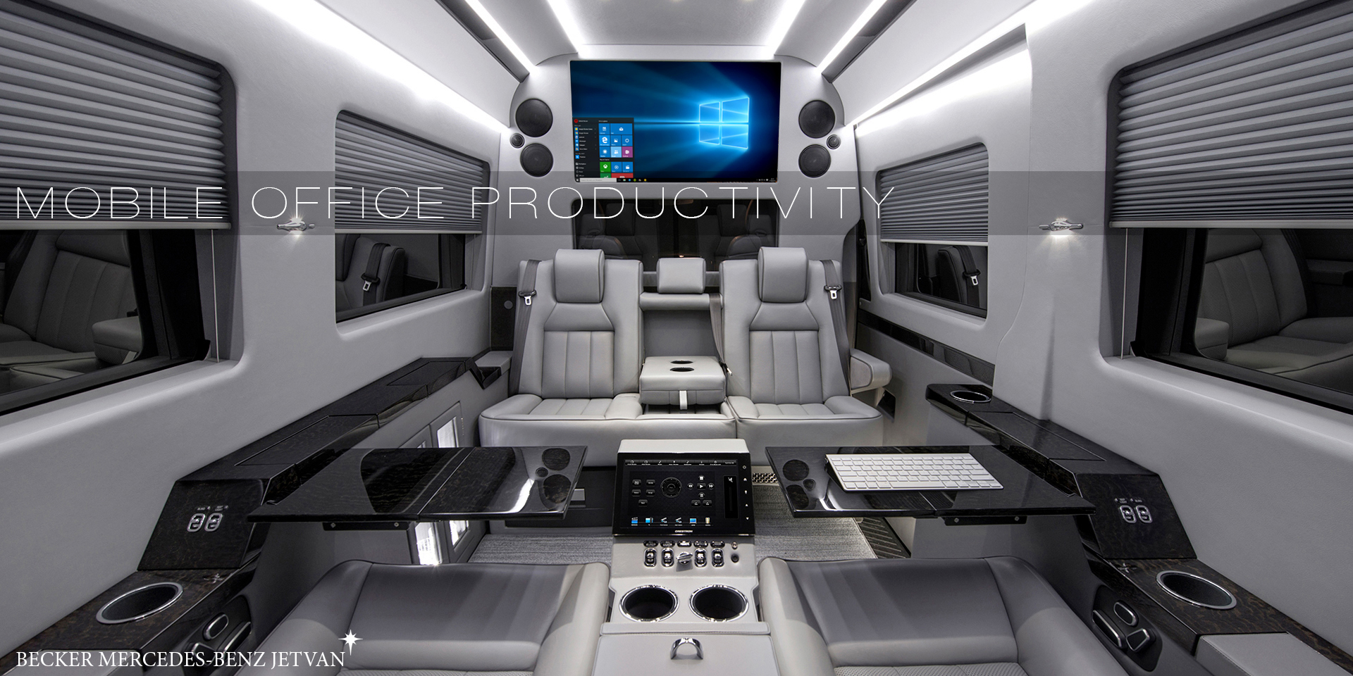 Sprinter JetVan Floorplan C
