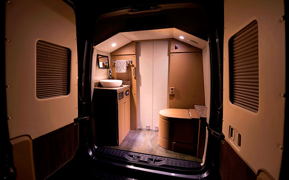 JetVan Bathroom