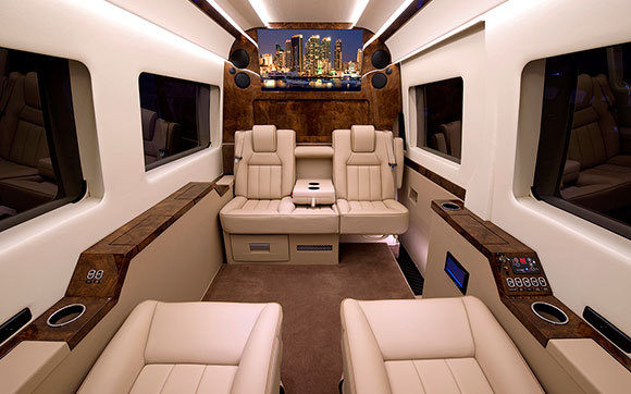 170in. JetVan Floor Plan C