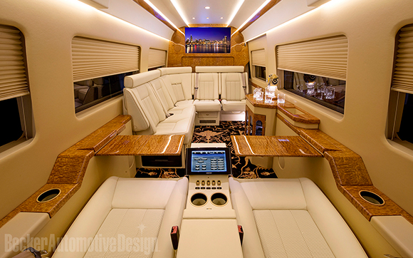 JetVan Floor Plan A
