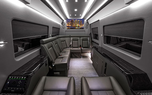 170in. JetVan Floor Plan A