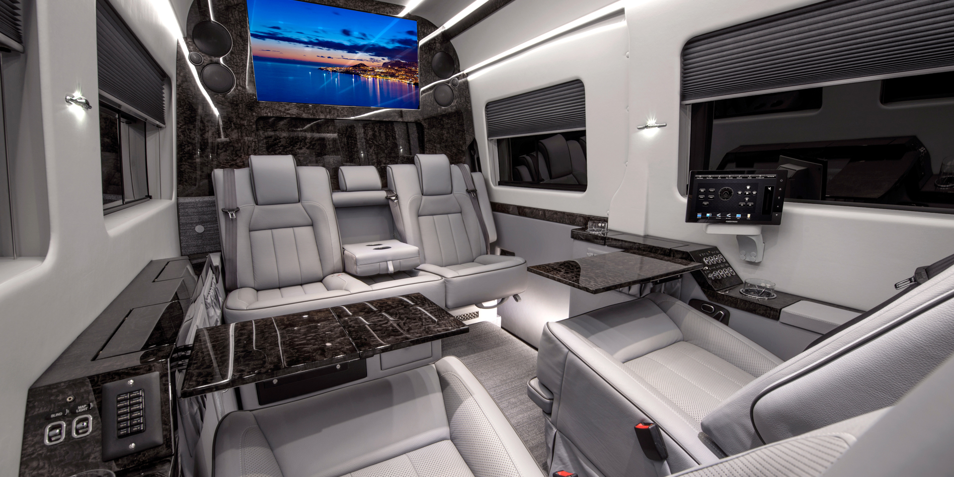 Becker Automotive Design Luxury Transport Coaches Sprinter Van