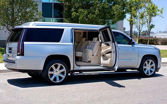 Tom Brady's 2018 Stretched Becker Cadillac Escalade ESV