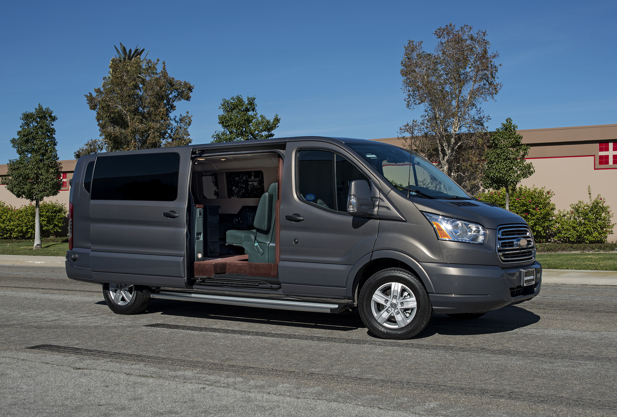 Suv >> Becker Automotive Design // Luxury Transport Coaches // Sprinter Van and Cadillac ESV Conversions